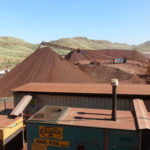 Stockpiling-ore-at-Spinifex-Ridge-July-2011